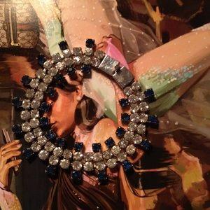 Rhinestone Prom Bracelet NWOT